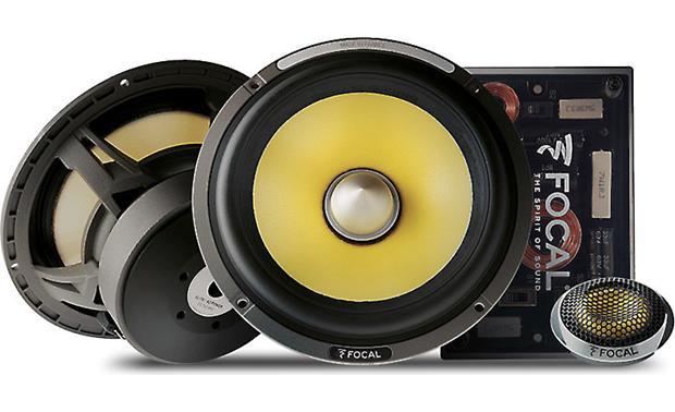 "Focal Es 165 KX2 6.5"" 2-Way Component Speaker Kit"