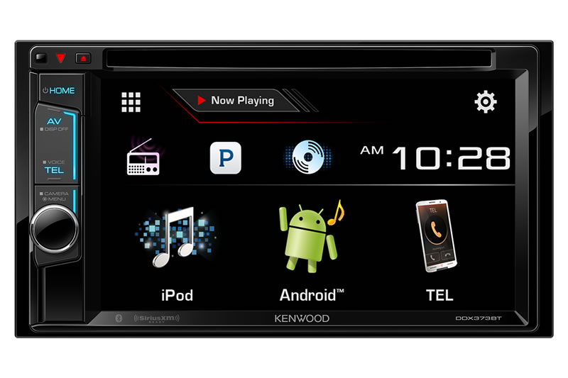 "Kenwood DDX373BT 2 din 6.2"" DVD, Bluetooth EQ X-Over Car Audio Receiver"