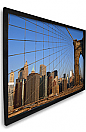 Dragonfly™ 100 in. AcoustiWeave™ Projection Screen with Black Velvet Frame (HDTV, 16:9)