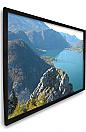 Dragonfly™ 145 in. Matte White Projection Screen with Black Velvet Frame (HDTV, 16:9)