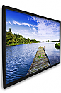 Dragonfly™ 106 in. High Contrast Projection Screen with Black Velvet Frame (HDTV, 16:9)