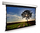 Dragonfly™ Motorized Tab Tension 92 in. Matte White Projection Screen (16:9 Aspect Ratio)