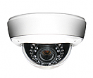 Wirepath™ Surveillance True Day/Night Vandal-Resistant Outdoor S-WDR Varifocal Dome Camera (650 TVL | White)