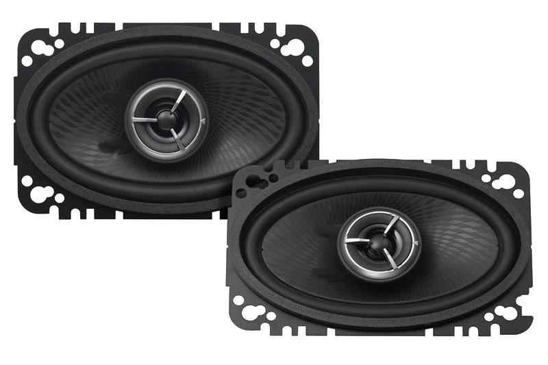 "Kenwood Excelon KFC-X463C 4""x6"" Coax 2-Way Car Audio Speaker"